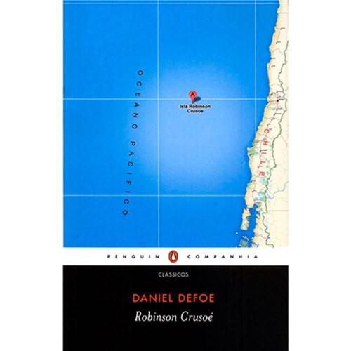Livro - Robinson Crusoé
