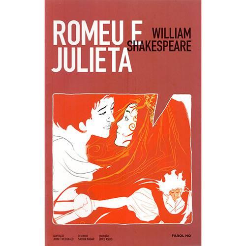 Livro - Romeu e Julieta (Farol HQ)