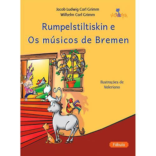 Livro - Rumpelstiltiskin e os Musicos de Bremen