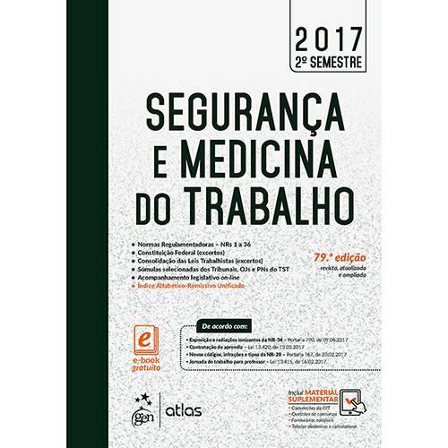 Livro - Segurança e Medicina do Trabalho