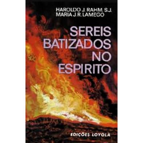 Livro - Sereis Batizado no Espírito