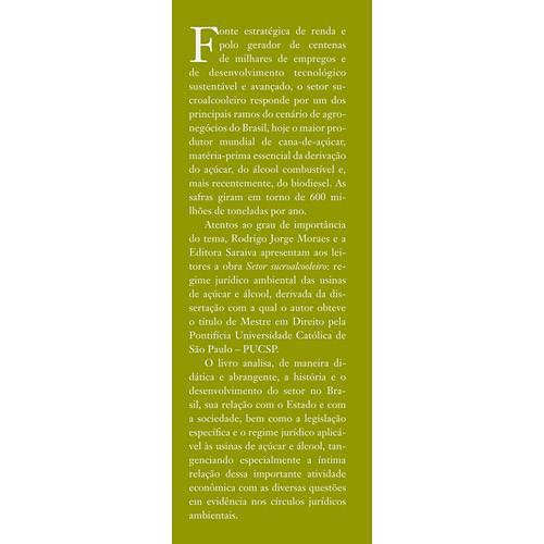 Livro - Setor Sucroalcooleiro - Regime Jurídico Ambiental das Usinas de Açúcar e Álcool