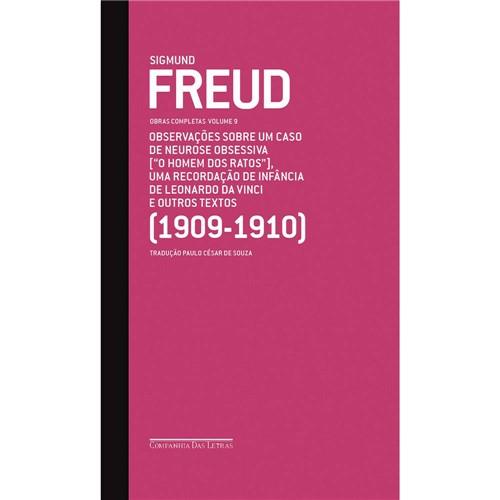 Livro - Sigmund Freud: Obras Completas - Observações Sobre um Caso de Neurose Obssessiva - Volume 9
