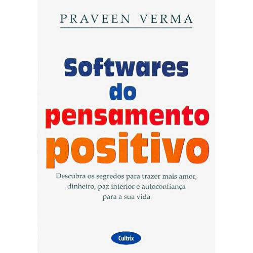 Livro - Softwares do Pensamento Positivo
