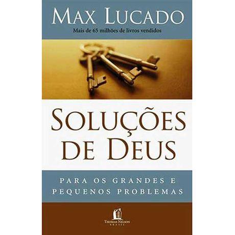 Livro Soluções de Deus para os Grandes e Pequenos Problemas