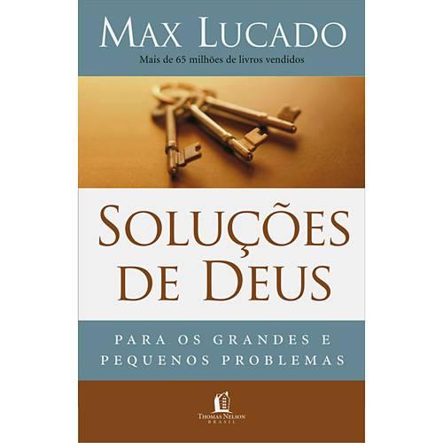 Livro - Soluções de Deus para os Grandes e Pequenos Problemas