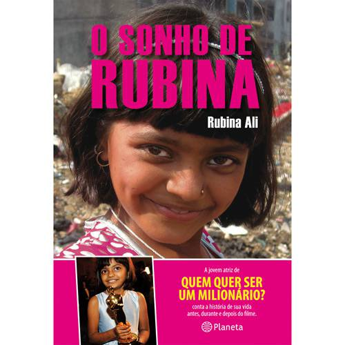 Livro - Sonho de Rubina, o