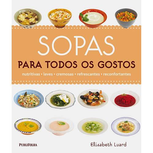 Livro - Sopas para Todos os Gostos