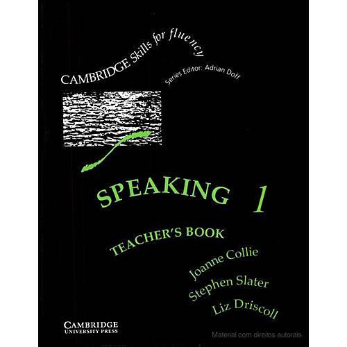 Livro : Speaking Teacher's Book - Book Pre-Intermediate Vol. 01
