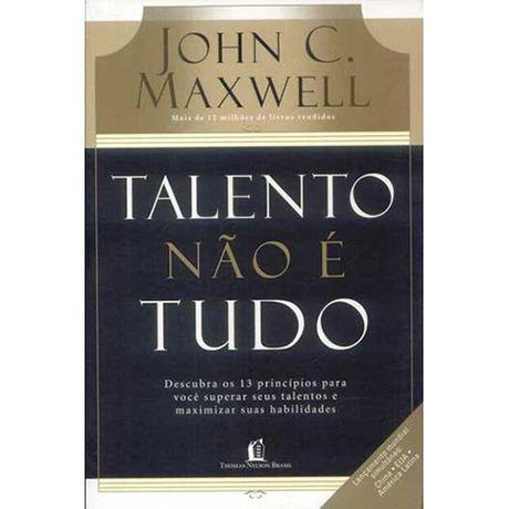 Livro Talento não é Tudo