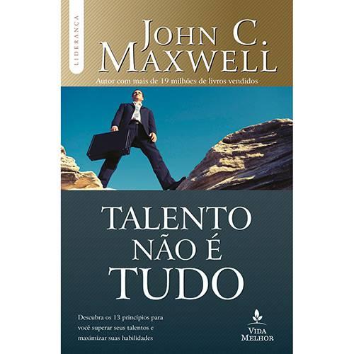 Livro - Talento não é Tudo