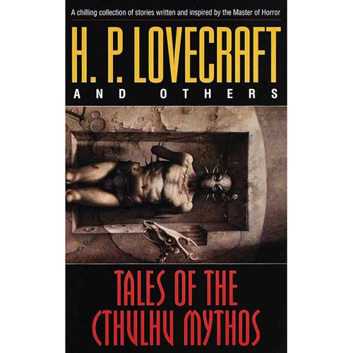 Livro - Tales Of The Cthulhu Mythos