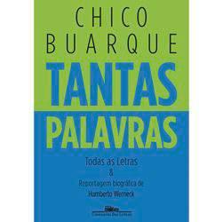 Livro - Tantas Palavras: Todas as Letras & Reportagem Biográfica de Humberto Werneck