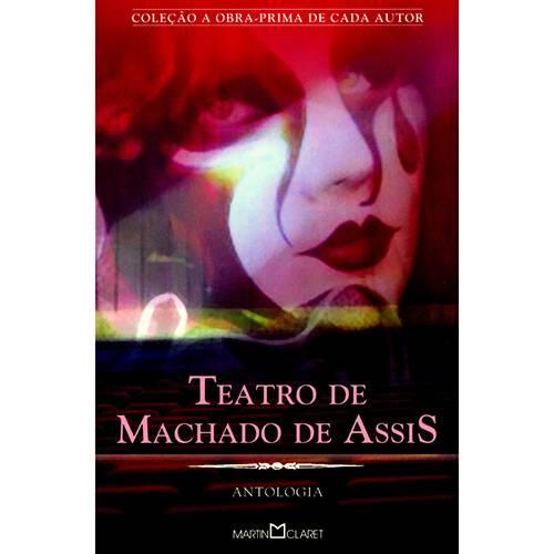 Livro - Teatro de Machado de Assis: Antologia