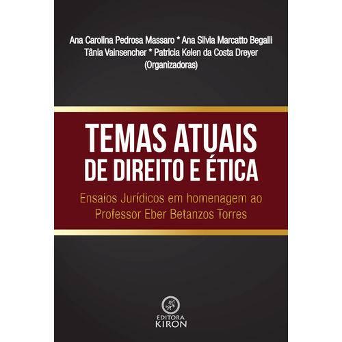 Livro: Temas Atuais de Direito e Ética