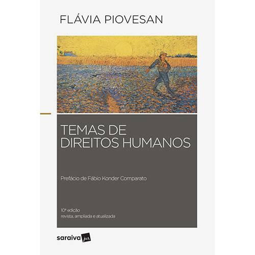 Livro - Temas de Direitos Humanos