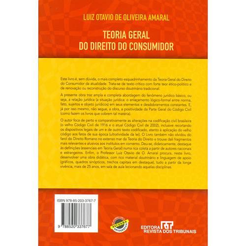 Livro - Teoria Geral do Direito do Consumidor