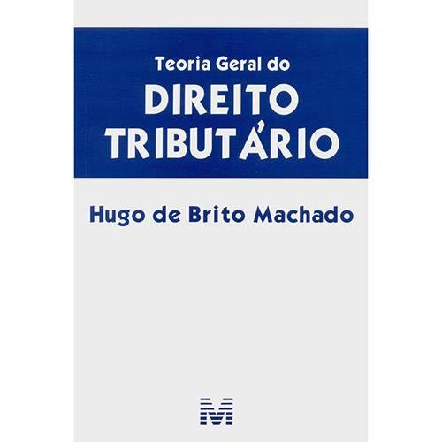 Livro - Teoria Geral do Direito Tributário