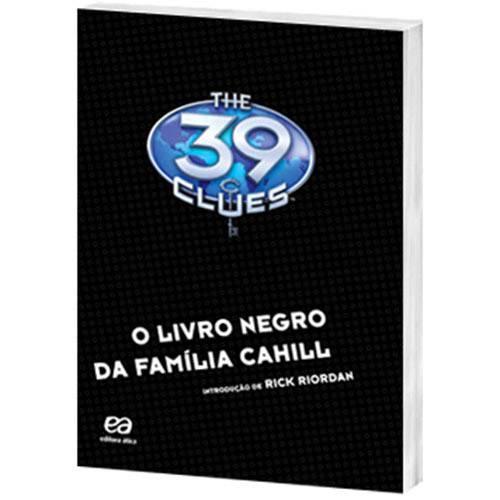 Livro - The 39 Clues: o Livro Negro da Família Cahill