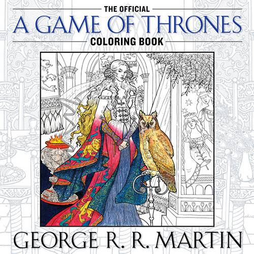 Livro - The Official a Game Of Thrones Coloring Book (An Adult Coloring Book)