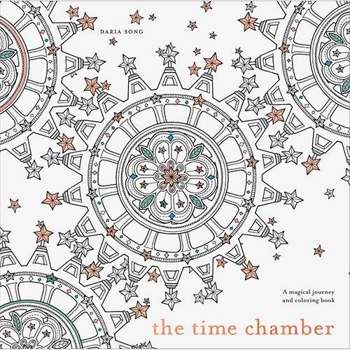 Livro - The Time Chamber: a Magical Story And Coloring Book
