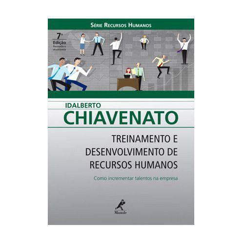 Livro - Treinamento e Desenvolvimento de Recursos Humanos