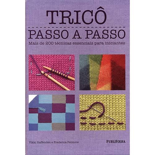 Livro - Tricô Passo a Passo
