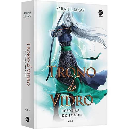 Livro - Trono de Vidro: Herdeira do Fogo - Vol. 3