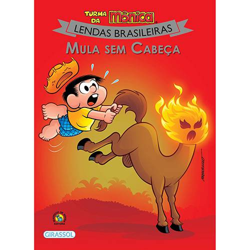 Livro - Turma da Mônica Lendas Brasileiras