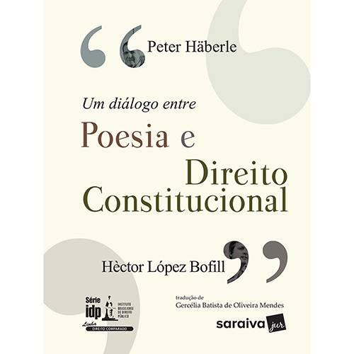 Livro - um Diálogo Entre Poesia e Direito Constitucional