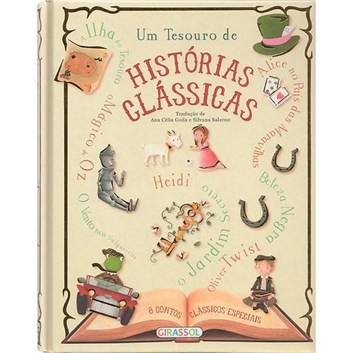 Livro - um Tesouro de Histórias Clássicas
