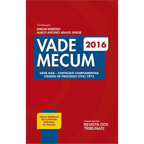 Livro - Vade Mecum: Vade Oab Conteúdo Complementar Código de Processo Civl/1973