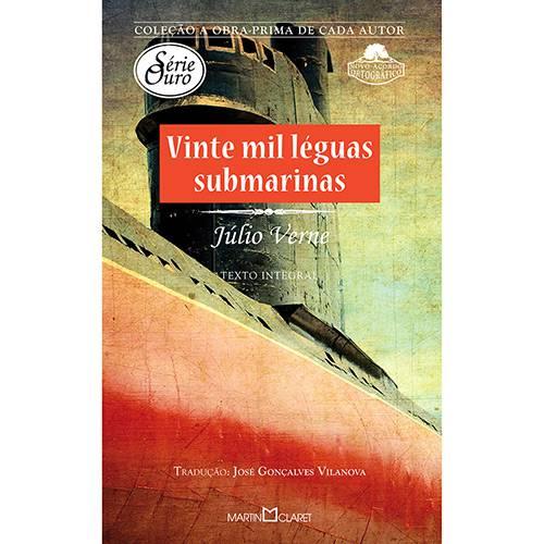 Livro - Vinte Mil Léguas Submarinas