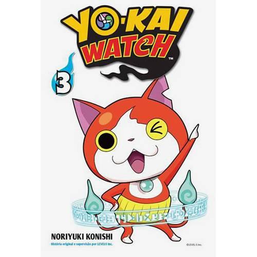 Livro - Yo-kai Watch 03