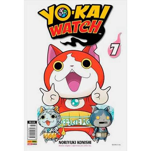 Livro - Yo-kai Watch 7