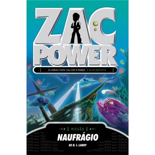 Livro - Zac Power 20: Naufrágio