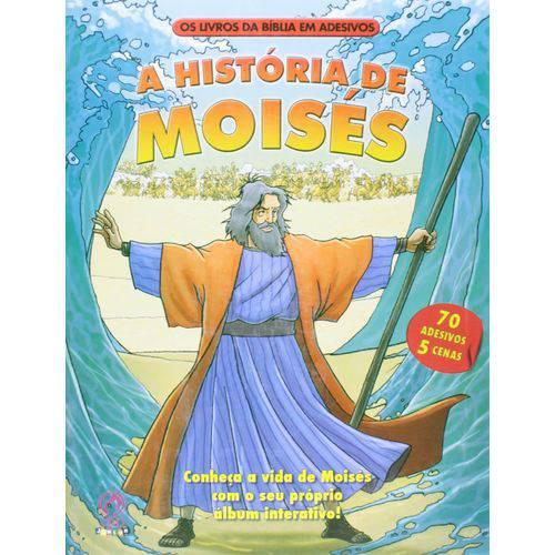 Livros da Biblia em Adesivos (os) - Historia de Moises (a)
