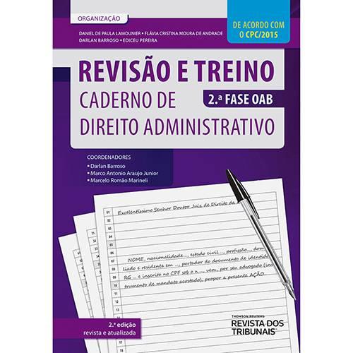 Livros - Revisão e Treino: Caderno de Direito Administrativo 2ª Fase Oab