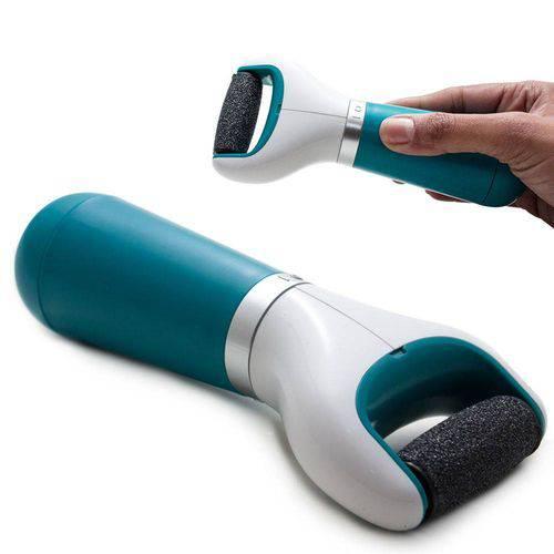 Lixa Elétrica Pé Esfoliador Calosidades Portátil Lixador Fácil Eliminar Calosidades dos Pés