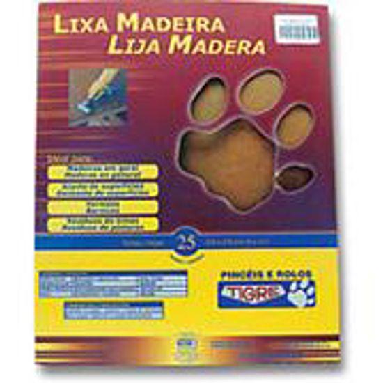 Lixa para Madeira 900 Folha Grão 150 - Pincéis Tigre