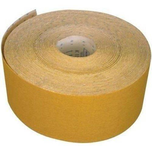 Lixa para Madeira Amarela Rolo com 45mts Grão Nº 80