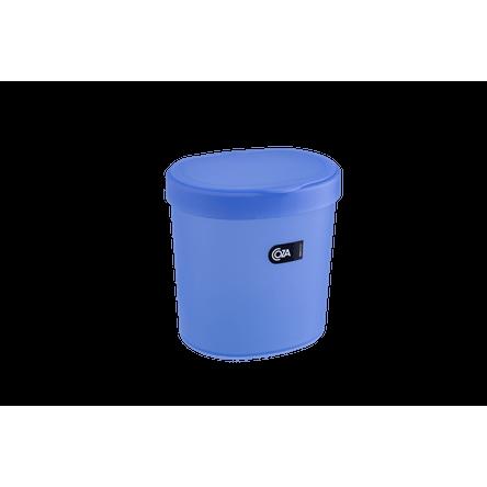 Lixeira 2,5 L Basic 17,5 X 15 X 18,2 Cm Azul Coza