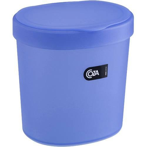 Lixeira 2,5L Azul - Coza