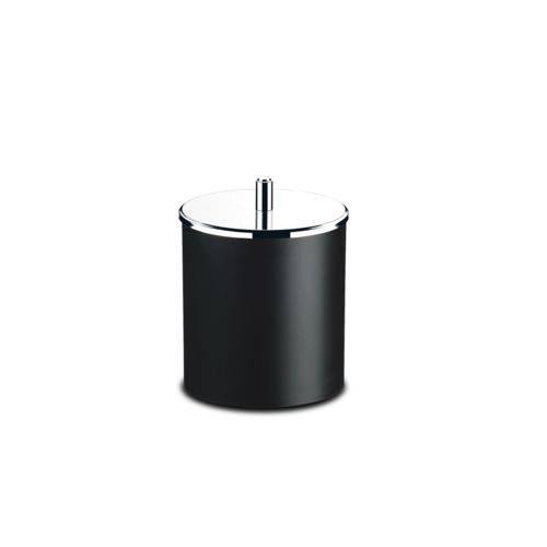 Lixeira com Tampa Basculante Inox 5,4 Litros Ø 18,5x23 Cm Brinox