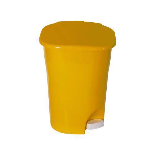 Lixeira Ecológica com Pedal LP2 25l Astra Amarelo