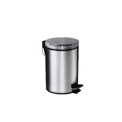 Lixeira em Aço Inox 3 Litros Standart Brinox