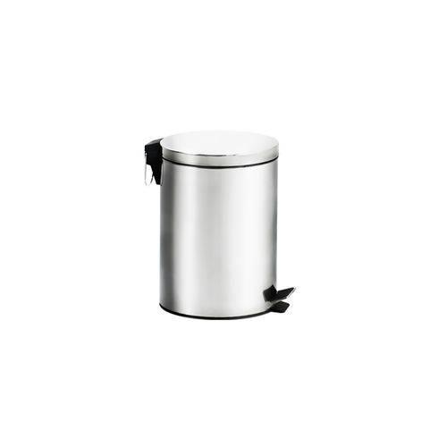 Lixeira Inox com Pedal e Balde - Standard Ø 20,5 X 27,5 Cm - Brinox