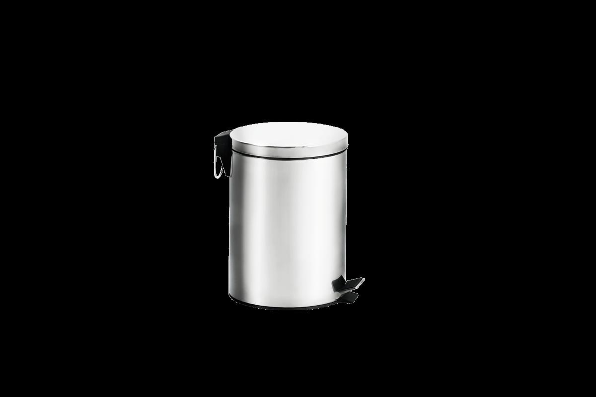 Lixeira Inox com Pedal e Balde - Standard Ø 20,5 X 27,5 Cm