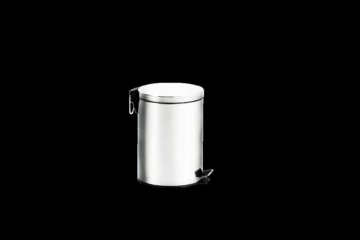 Lixeira Inox com Pedal e Balde - Standard Ø 16,9 X 25,5 Cm