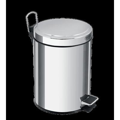 Lixeira Inox 3 Litros com Pedal e Balde Interno Tramontina 94538103